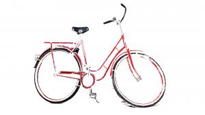 Mit dem Fahrrad