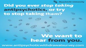 Umfrage zum Absetzen von Antipsychotika