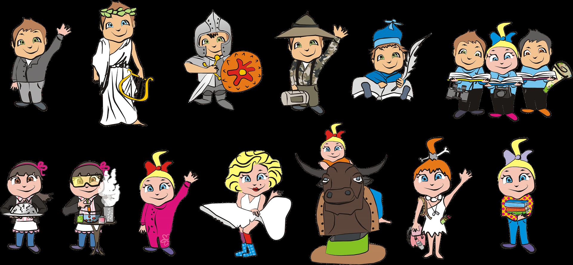 Verkleiden, verwandeln und kreativ sein - Inklusives Herbstferienprogramm