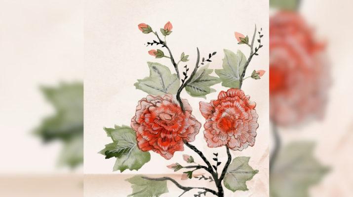 Vintage Blumen Quelle: pixabay