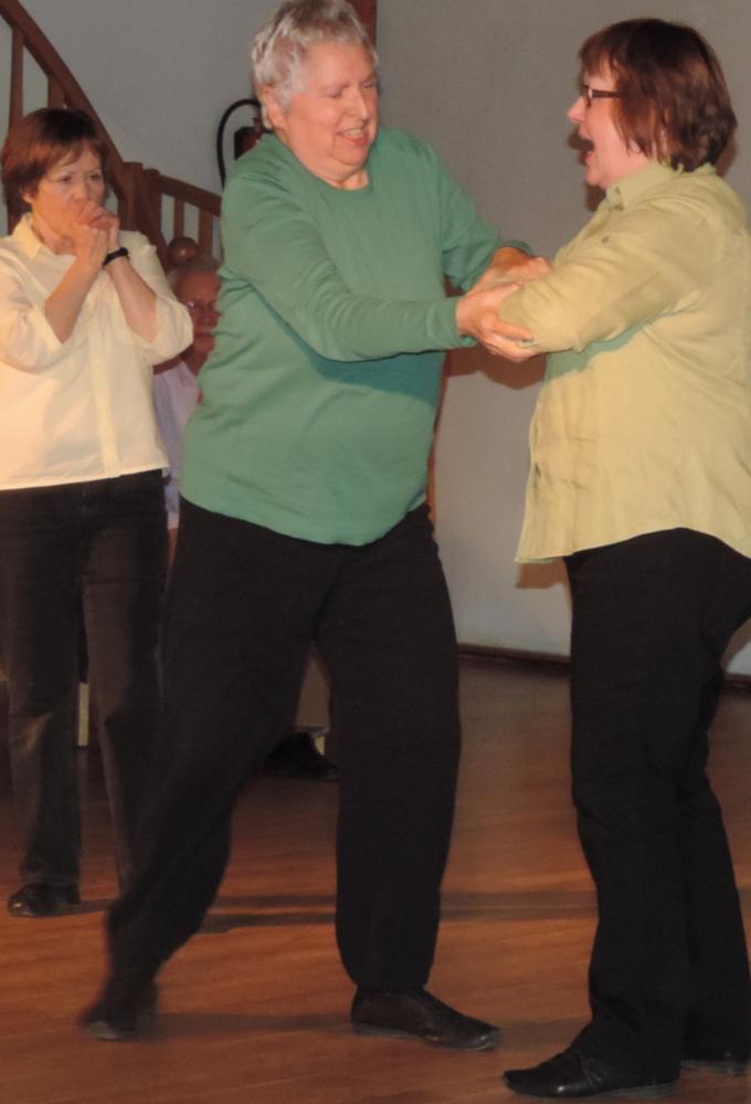 Szene vom Senioren-Theater
