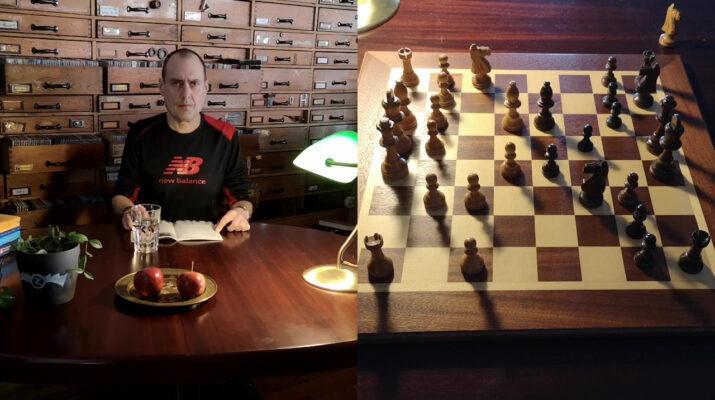Beitragsbild zum Artikel Glück gehabt Matthias Elsner Schachspiel