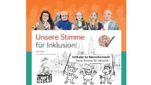 Unsere Stimme für Inklusion - Kundgebung gegen Diskriminierung