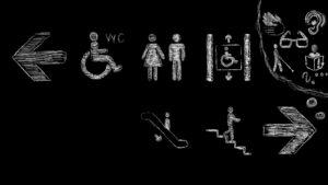 Erwähnenswerte Barrieren haben (leider) nicht nur Rollstuhlfahrende.