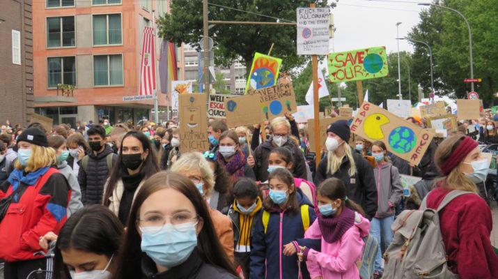 Demo Klimastreik 24.09.2021 Bremen
